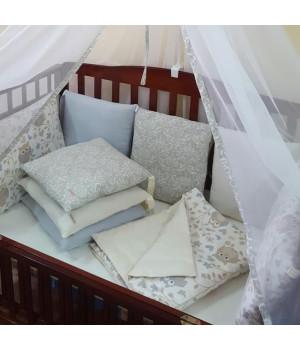 """Комплект в детскую кроватку """"Совы"""""""