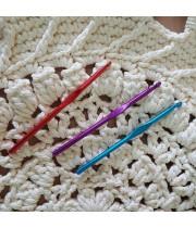 Металический крючок для вязания №6