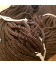 Шнур для вязания хлопковый Коричневый