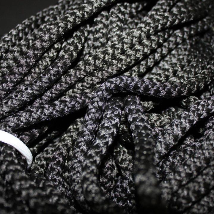 Шнур полиэфирный с сердечником Черный