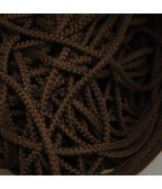 Шнур полиэфирный с сердечником Темно-коричневый