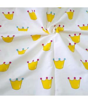 Ткань хлопок Короны