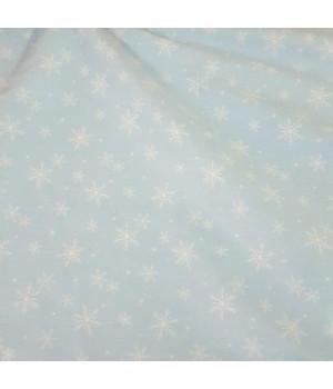 Ткань хлопок Снежинки