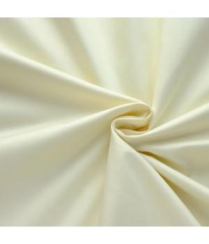 Сатин - цвет сливочный