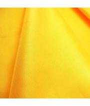 Ткань хлопок Желтая однотонная