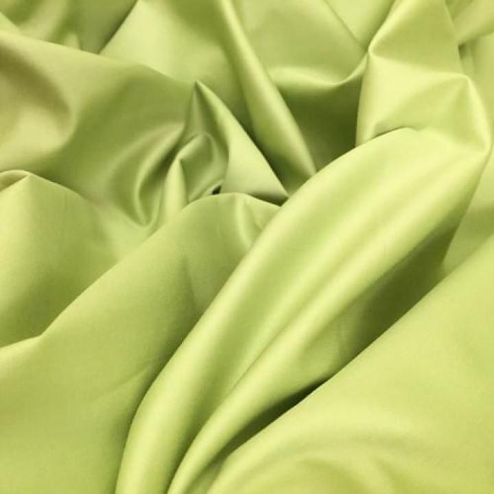 Сатин - цвет фисташковый