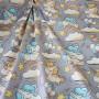 Ткань хлопок Единорожки на облаках