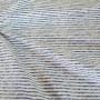 Ткань хлопок Полоска синяя/белая
