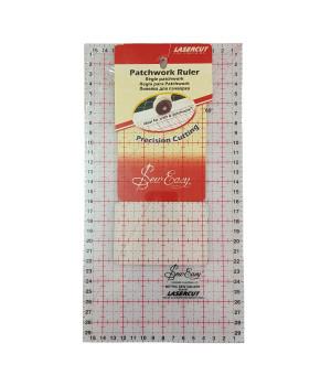 Линейка для пэчворка прямоугольная в сантиметрах 30 x 16 см