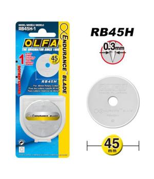 Запасное лезвие Olfa 45 мм с увеличенной заточкой