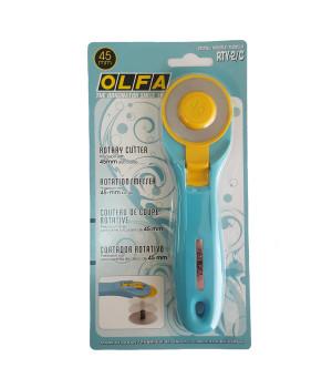 Раскройный дисковый нож Olfa, 45 мм
