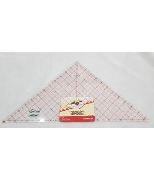 """Линейка для пэчворка треугольник 90 градусов 12 1/2"""" х 12 7/8"""""""