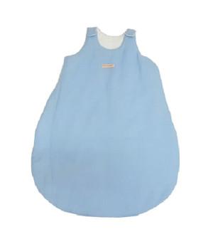 """Спальный мешок для новорожденных """"Однотонный голубой"""""""