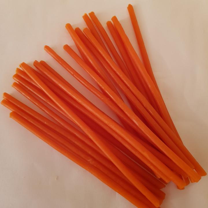 Свечи оранжевые